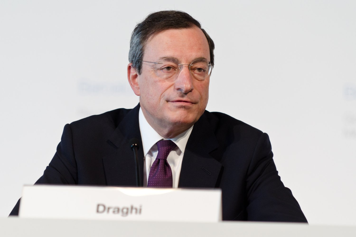 ECB President Draghi: Cryptocurrency Impact Still 'Limited'