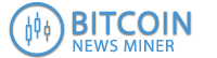 Bitcoin News Miner Logo