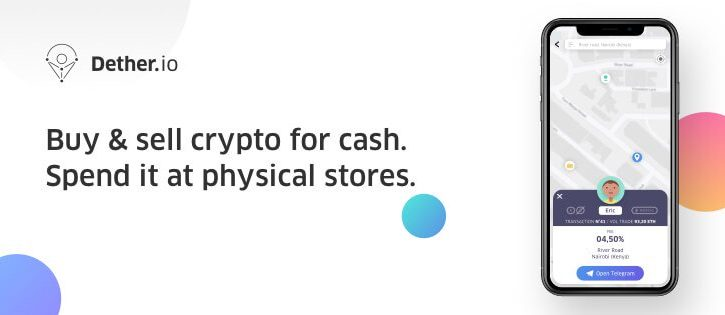 Token Launch Date Announced for Dether, World's First Peer-To-Peer Ecosystem of Crypto Buyers, Sellers, and Shops