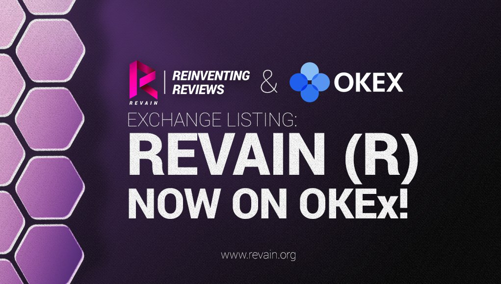 PR: Revain Token Gets Listed on OKEx