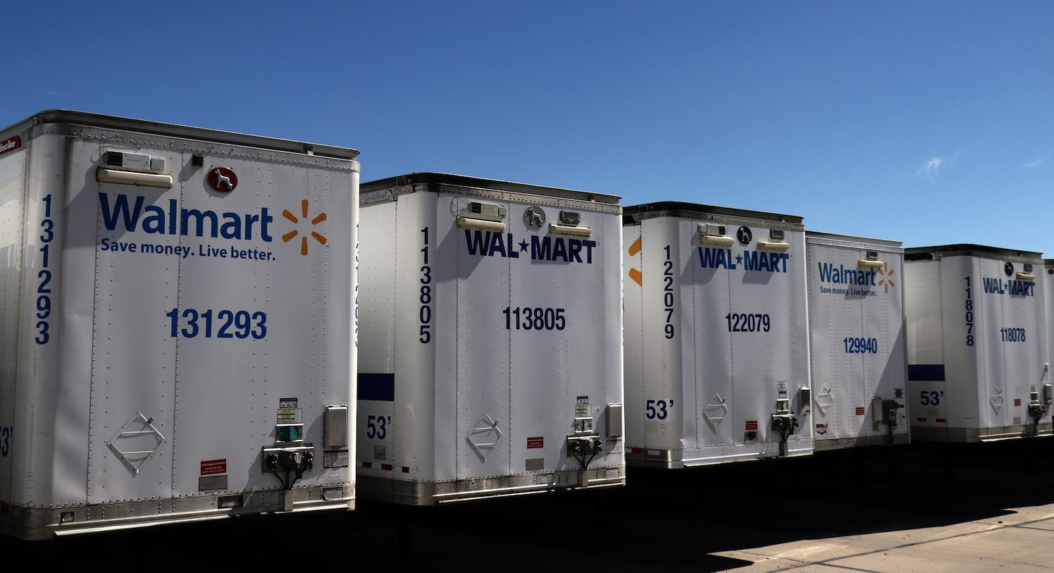 Walmart Patent Envisions Blockchain-Powered Delivery Fleets