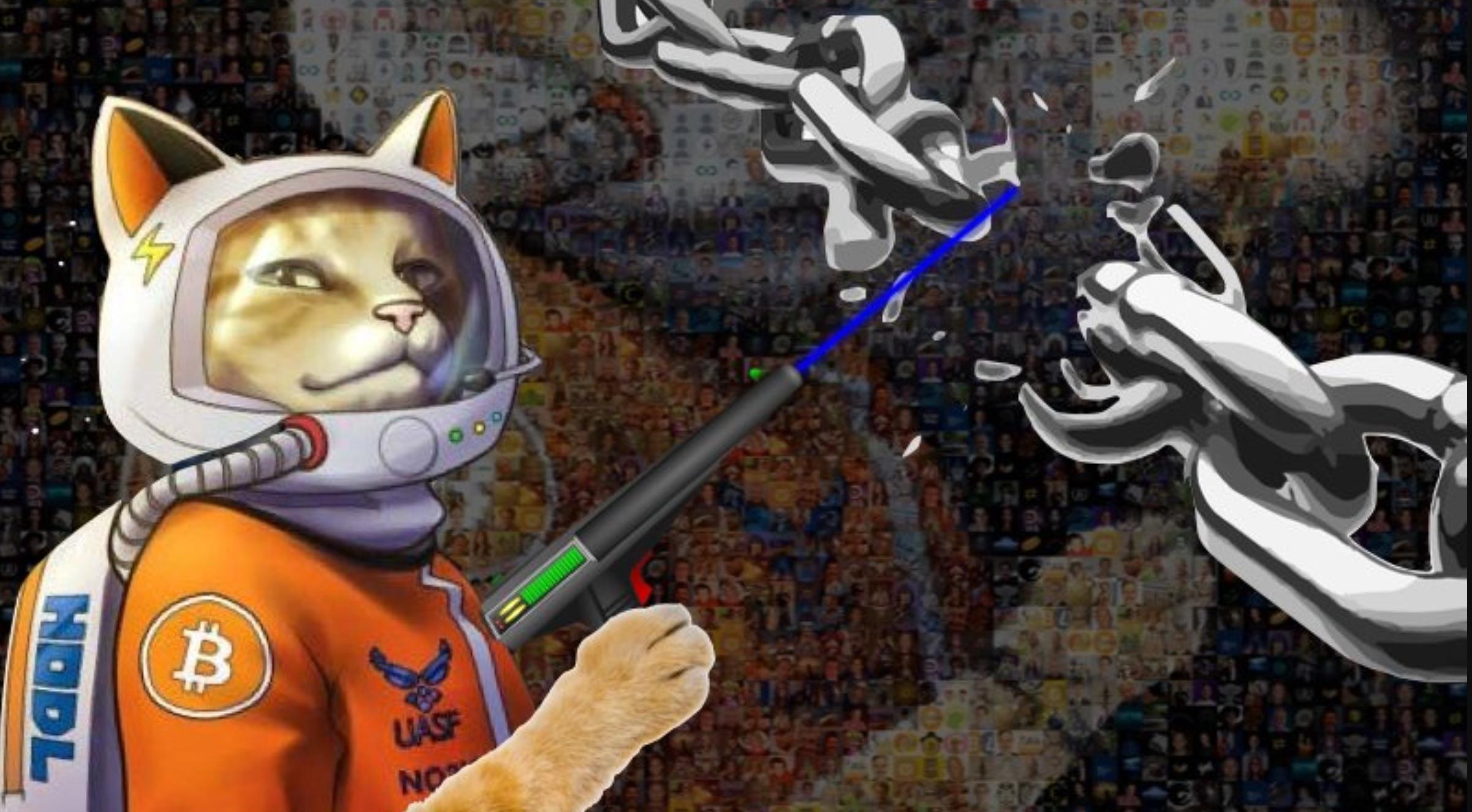 Craig Wright's Fight With a Cartoon Bitcoin Astronaut Cat Explained