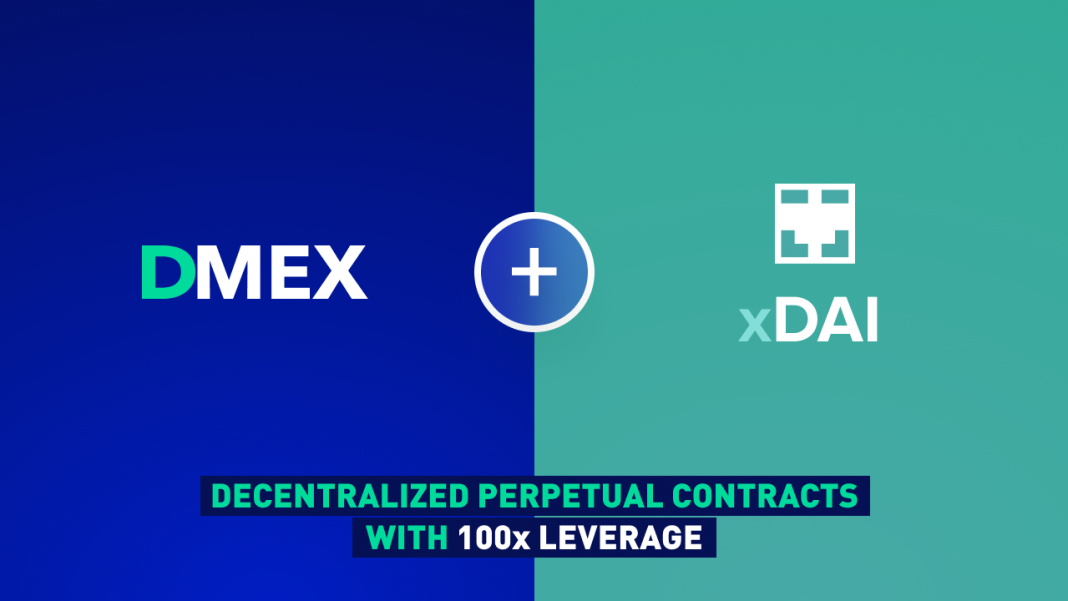 dmex-integrates-xdai-for-cheap-decentralized-perpetual-contracts-with-up-to-100x-leverage-and-no-kyc